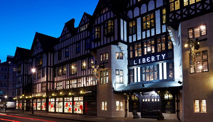 Liberty London, Nagy Britannia